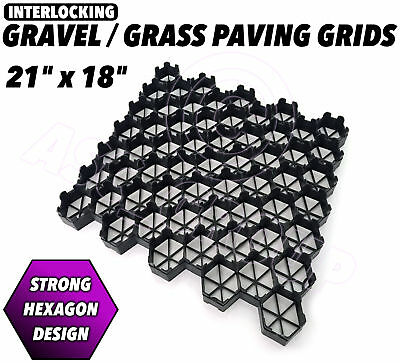 Paving Grids Reinforcement Grass Gravel Stones Driveways Paths Garden Car Parks