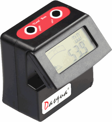 Dasqua Digital Angle Gauge with Flip Out Display Inclinometer From Chronos