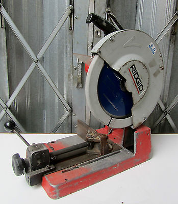 Ridgid 590L Dry Cut Saw 14in 355mm Rigid Chop Saw   REF 5845