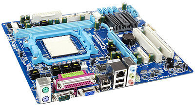 Placa Base GIGABYTE GA-M68M-S2P AMD Socket AM2 AM2+ AM3 DDR2-800 PCI-E SATA