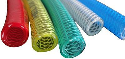 """Helix Racing 1/4"""" Fuel Injection Hose Green 3' Roll"""