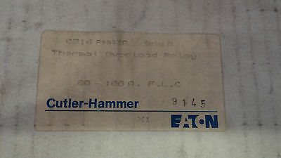 Cutler Hammer C316Pna3B New In Box See Pics Thermal Overload Relay 80-100A #a32