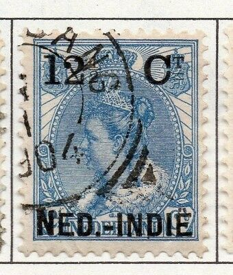 Indonesia Dutch Indies 1900 Early Issue Fine Used 12.5c. Surcharged 152751