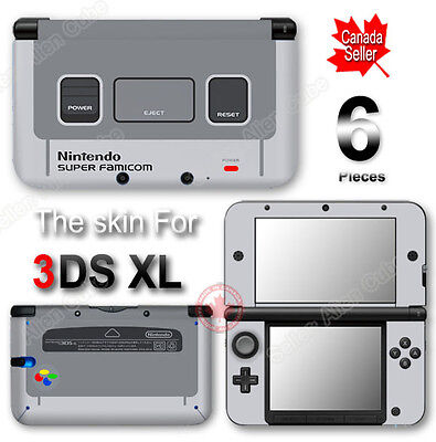 Super Famicom Special Edition Skin Vinyl Sticker Decal Cover for Nintendo 3DS XL