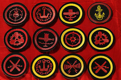 Genuine 12 pcs Soviet USSR Russian Navy patch chevrons