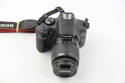 Canon 1300D EOS 18.0MP DSLR Camera with EF-S 18-55 DC III F3.5-5.6 Lens - Black