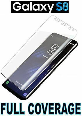 Full Coverage 100% Clear Hd Screen Protector Cover 3D Tpu Film Samsung Galaxy S8