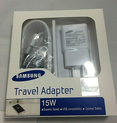 Samsung Fast Adaptive 15W Travel Charger Combo Plug + Micro Cable  - Retail Pack