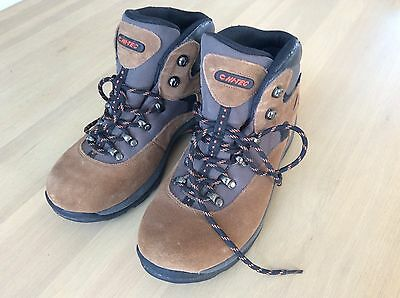 Hitec womens UK 8 us 9 wur 42 hiking boots shoes Crest Lite Mid WP