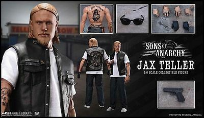 """Sons of Anarchy - Jax Teller 12"""" 1:6 Scale Action Figure-PCSJAX001"""