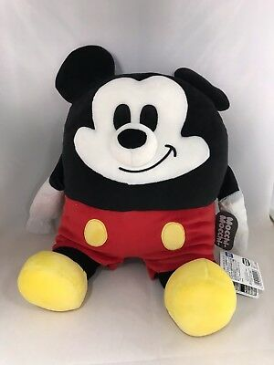 Japan Stuffed Toys - Disney Mocchi-Mocchi- stuffed M Mickey Mouse *AF27*