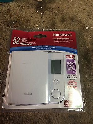 LOT OF 4 Honeywell RLV4305A 5-2 Day Programmable Thermostat