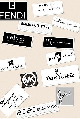 $1000 Wholesale Lot Womens Designer and Brand Name Clothing, Shoes, Handbags