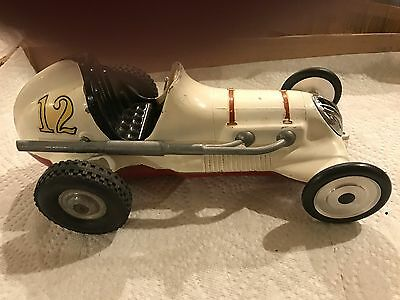 Nice Condition! Cox Thimble Drome Champion Tether Car, No Motor WHITE  #12
