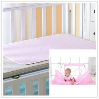 Portable Baby Infant Tent Bed Travel Mosquito Net+Small Waterproof Mat Sheet