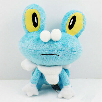 "7"" Cute Pokemon Froakie Mega X Kid Toy Soft Plush Stuffed Doll Toy Birthday Gift"