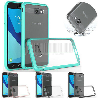 Slim Shockproof Hybrid Rubber Phone Case Cover For Samsung Galaxy J7 2017 / Halo