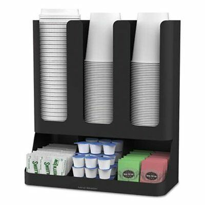 Cup and Lid Holder Organizer Coffee Stand Station Office Home Rack Dispenser New