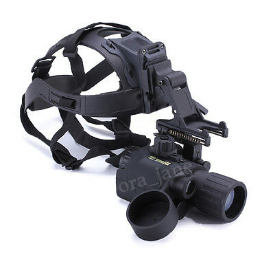 AORUEY Army Helmet With Infrared Hd Night-vision Monocular IR Digital Telescope