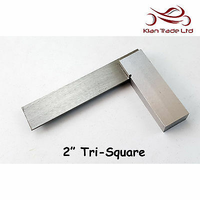 "2"" inch 50mm Try 90 Square Unmarked Tri Top Quality Wood Carpenter Tool"