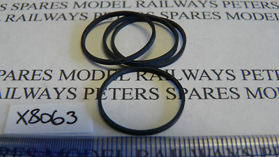 Hornby X8063 0-4-2 Class 14xx Traction Tyres (Pk4)