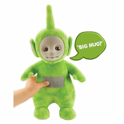 Teletubbies Talking Dipsy Plush Soft Toy - Green