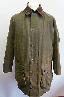 Vintage Barbour  Northumbria Waxed Hunting Jacket Size C42/107Cm