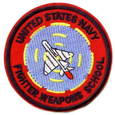 Aufnäher Top Gun Figher Weapon School F-14 Patch US Army NAVY