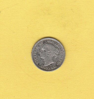 1881-H 5C Canada 5 Cents