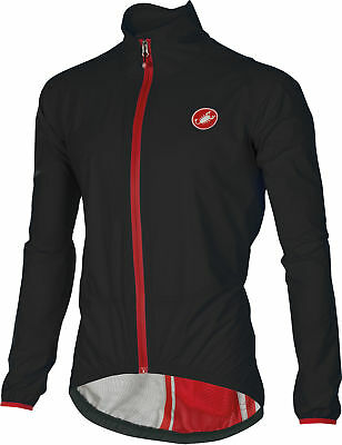 Castelli Riparo Bike Rain Jacket Black 2018