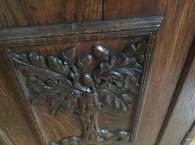 Edwardian/Victorian 'Tree of  Life' solid wood 'sideboard' - London area