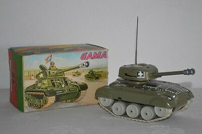 Gama Medium Tank M 98 Panzer Uhrwerk Made in Western Germany OKT 124
