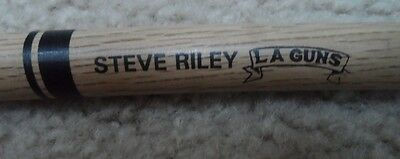 STEVE RILEY of the band LA GUNS DRUM STICK