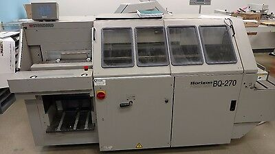 Horizon BQ-270 Perfect Binder, Bourg, Duplo, Morgana, Heidelberg