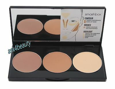 Smashbox Step-by-Step Contour Kit With Brush New In Box
