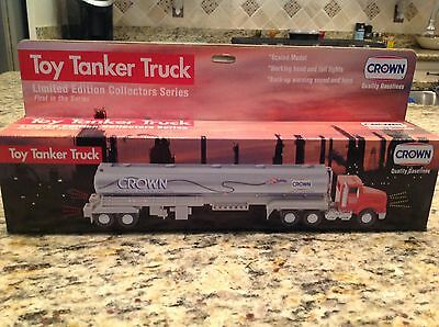 1994 Crown Quality Gasolines Toy Tanker Truck First in Series New in Box LE !