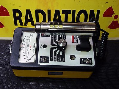 Victoreen 290 computer based Geiger counter radiation detector CALIBRATED