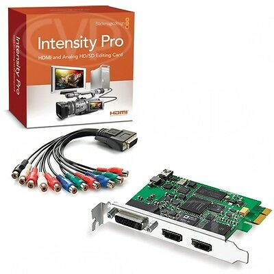 Blackmagic Design Intensity Pro HDMI Analog HD/SD Editing Card