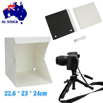 Light Room Photo Studio Photography Backdrop Mini Cube Box Tent Kit Box Portable