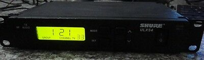 Shure-ULXS4-Wireless-Microphone-Receiver,662-698 mhz or 470-506 mhz