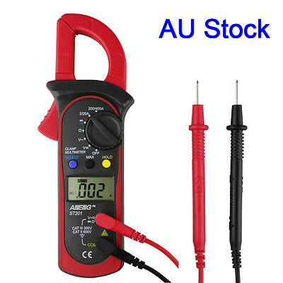 UNI-T ST201 Digital Clamp Multimeter AC DC Resistance Frequency Tester  Detector