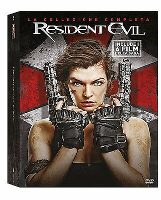 RESIDENT EVIL COLLECTION - 6 FILM (6 DVD) con Milla Jovovich