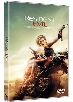 RESIDENT EVIL - The Final Chapter (DVD) con Milla Jovovich