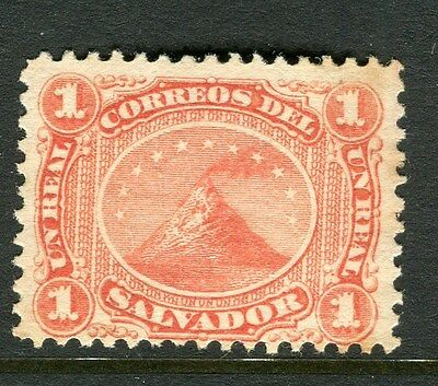EL SALVADOR;  1867 early classic issue Mint hinged 1c. value