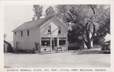 RP: Mckee's General Store & Post Office, PORT MAITLAND , Ontario, Canada , 20-40