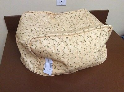 "Quilted Toaster Oven & Small Appliance Cover Yellow Vine 26""L x 10""W x 8.5""H NEW"