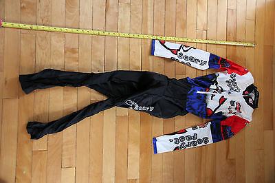 New Old Stock Rocket Power Parts Scary Fast DH Skin Suit small coolmax chamois