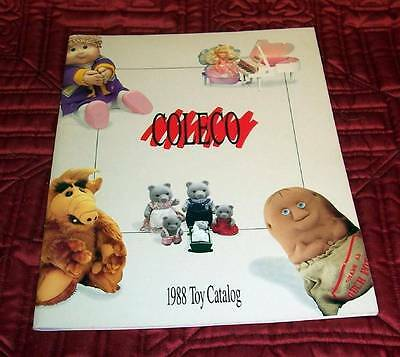 Coleco '88 Toy Catalog Cabbage Patch Tomy AFX Alf Princess Magic Starcom-60 Pgs