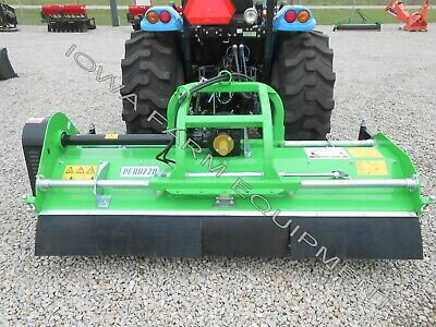 "Flail Mower, Mulcher: Peruzzo Elk 2000 79"" Gage Wheels, Hyd Left & Right Offset!"