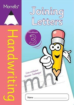 Morrells Handwriting Books - Joining Letters Writing Cursive Practice Workbook 3